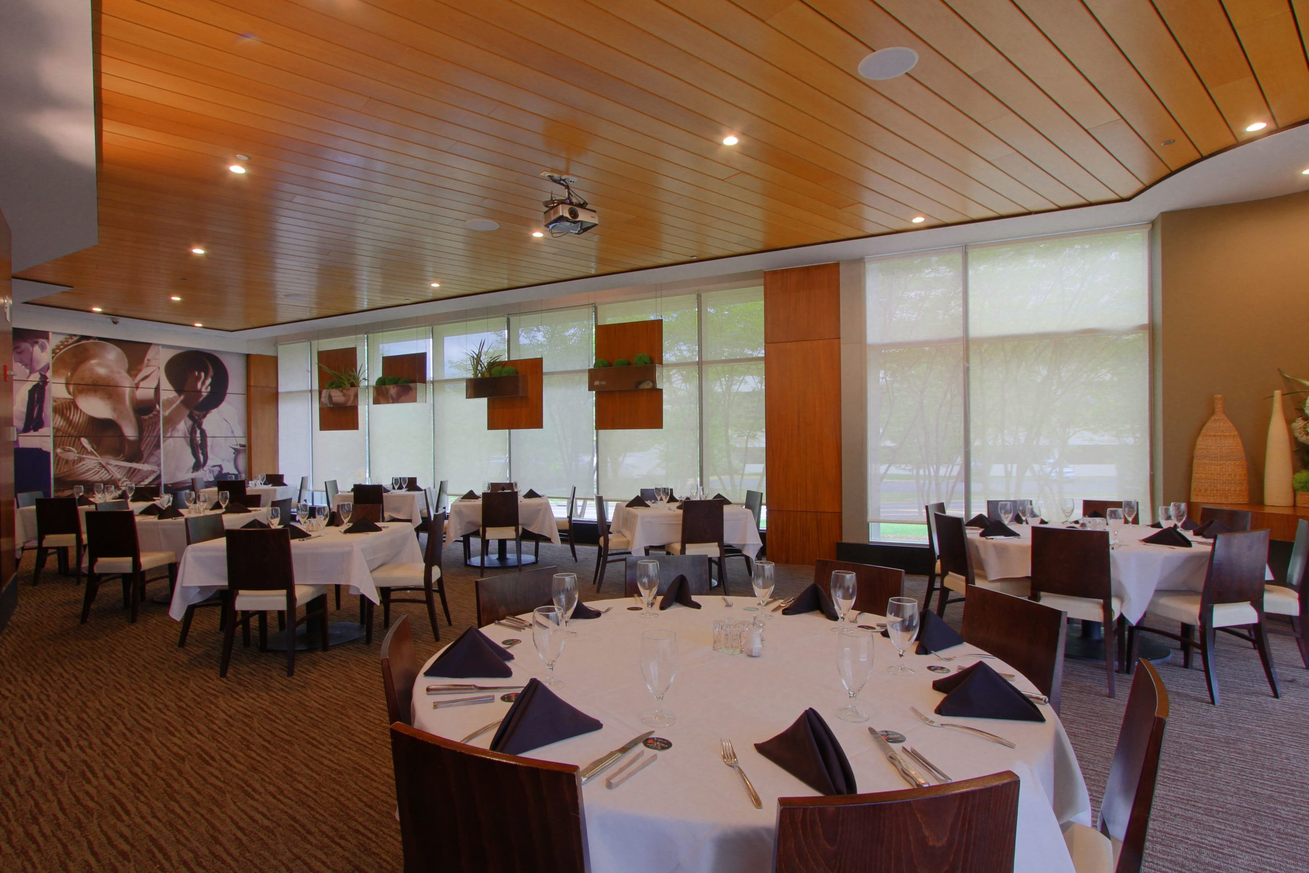 TYS_Private dining with screen left rear